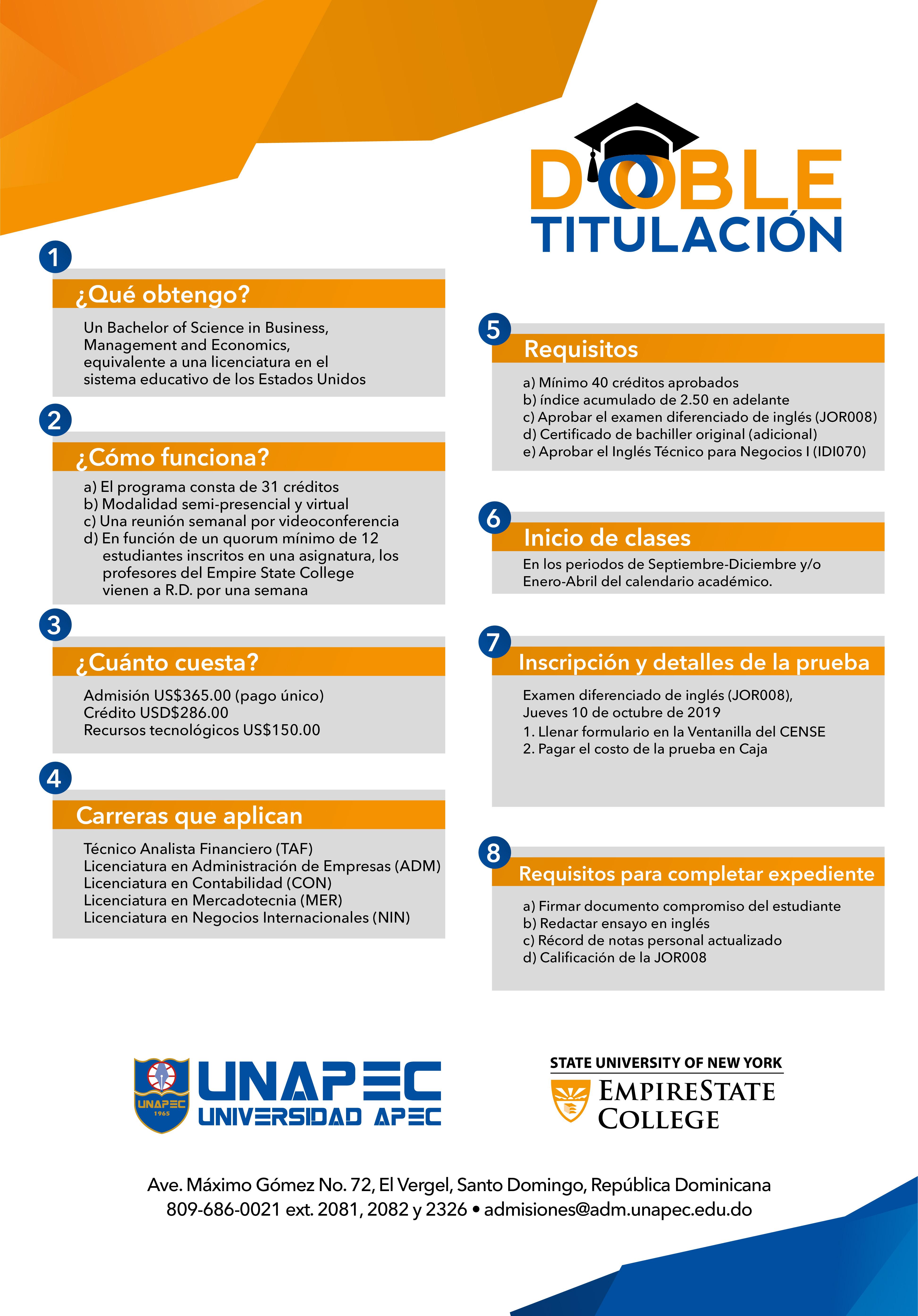 UNAPEC - Portal de Admisiones